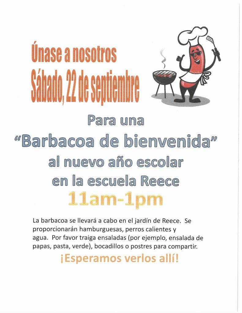BBQ Flyer en Español